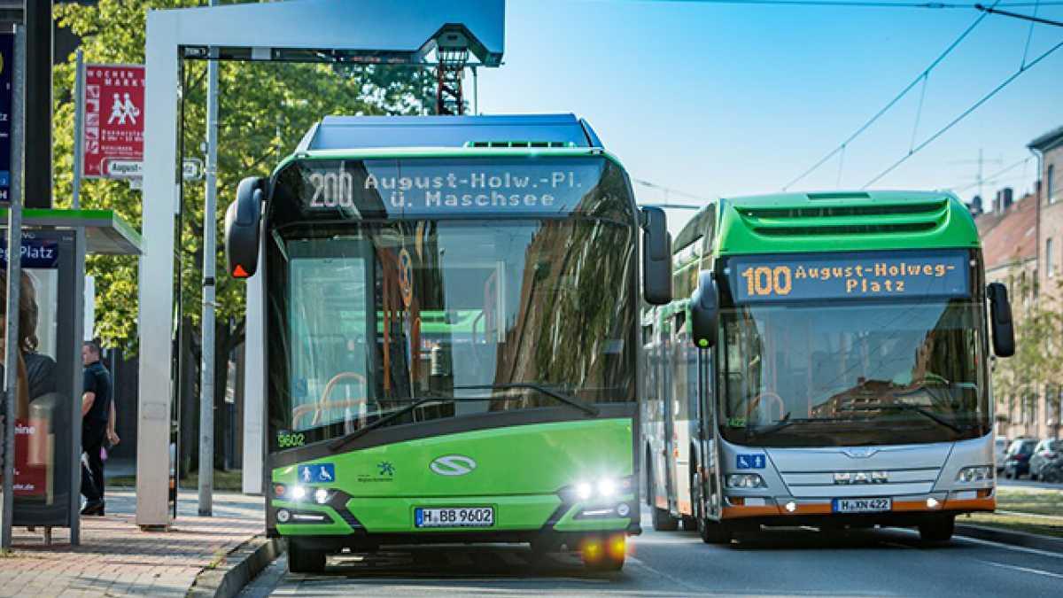 Elektroantriebe im ÖPNV: Beim Bus fällt der Abschied vom Diesel schwer