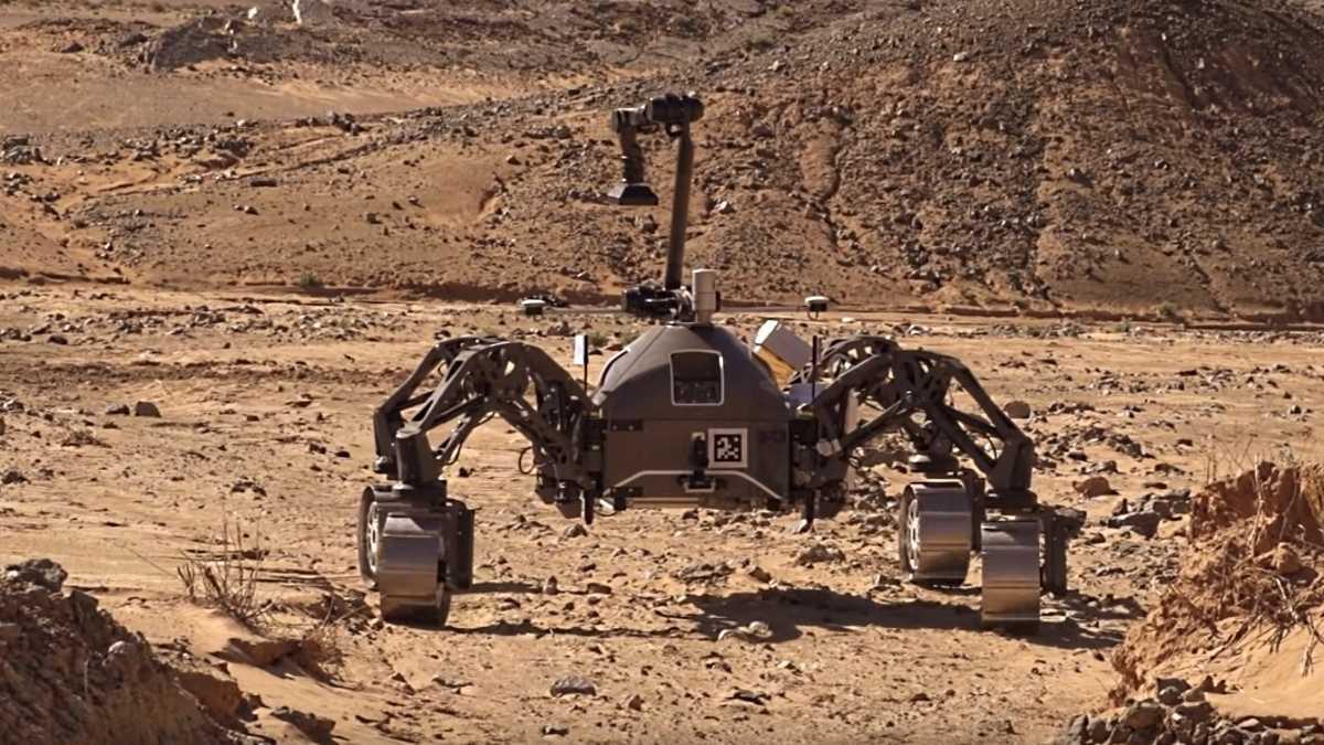 Bremer Weltraumroboter kommen zur Hannover Messe