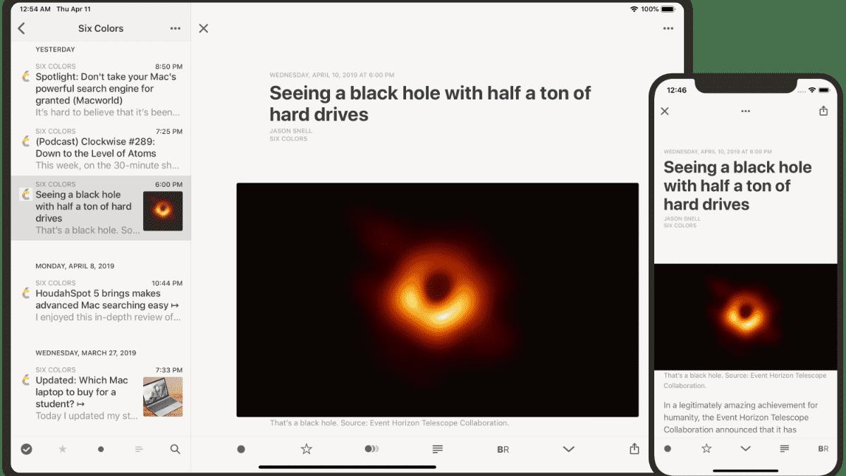 Populärer RSS-Reader Reeder für iOS und macOS umgekrempelt