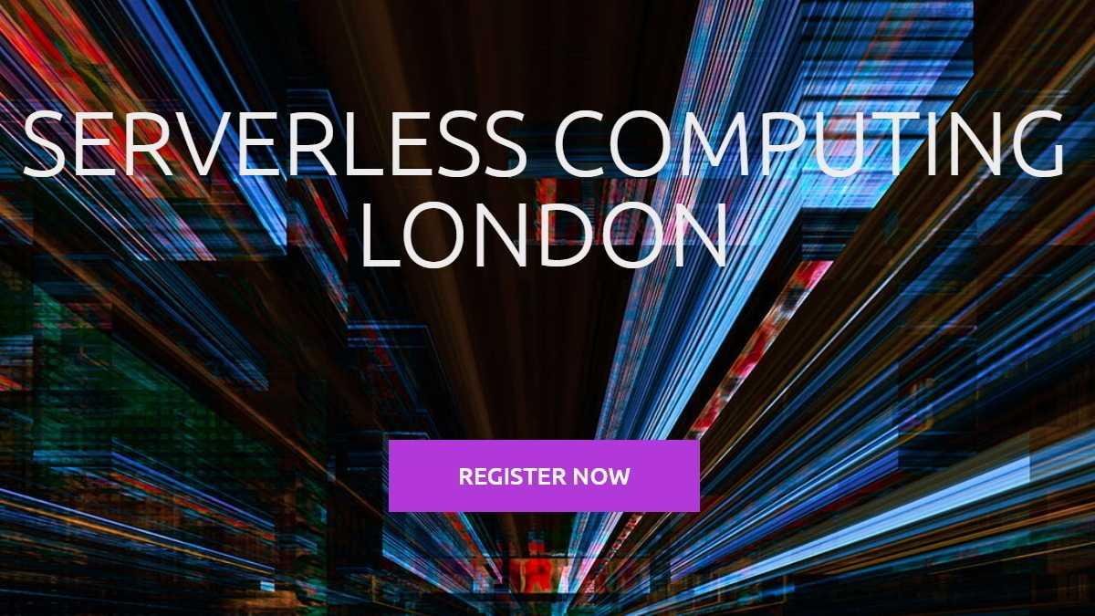 Serverless Computing London: Das Programm ist online