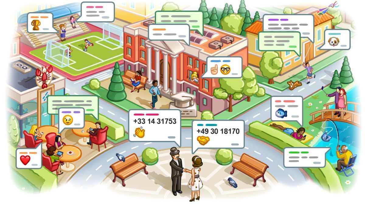 Telegram-Messenger startet ortsbezogene Chats