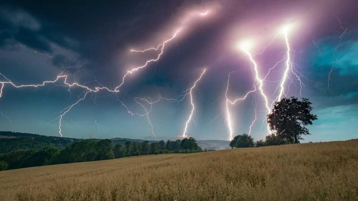 Thunderstorm von Galeriefotograf totalstranger