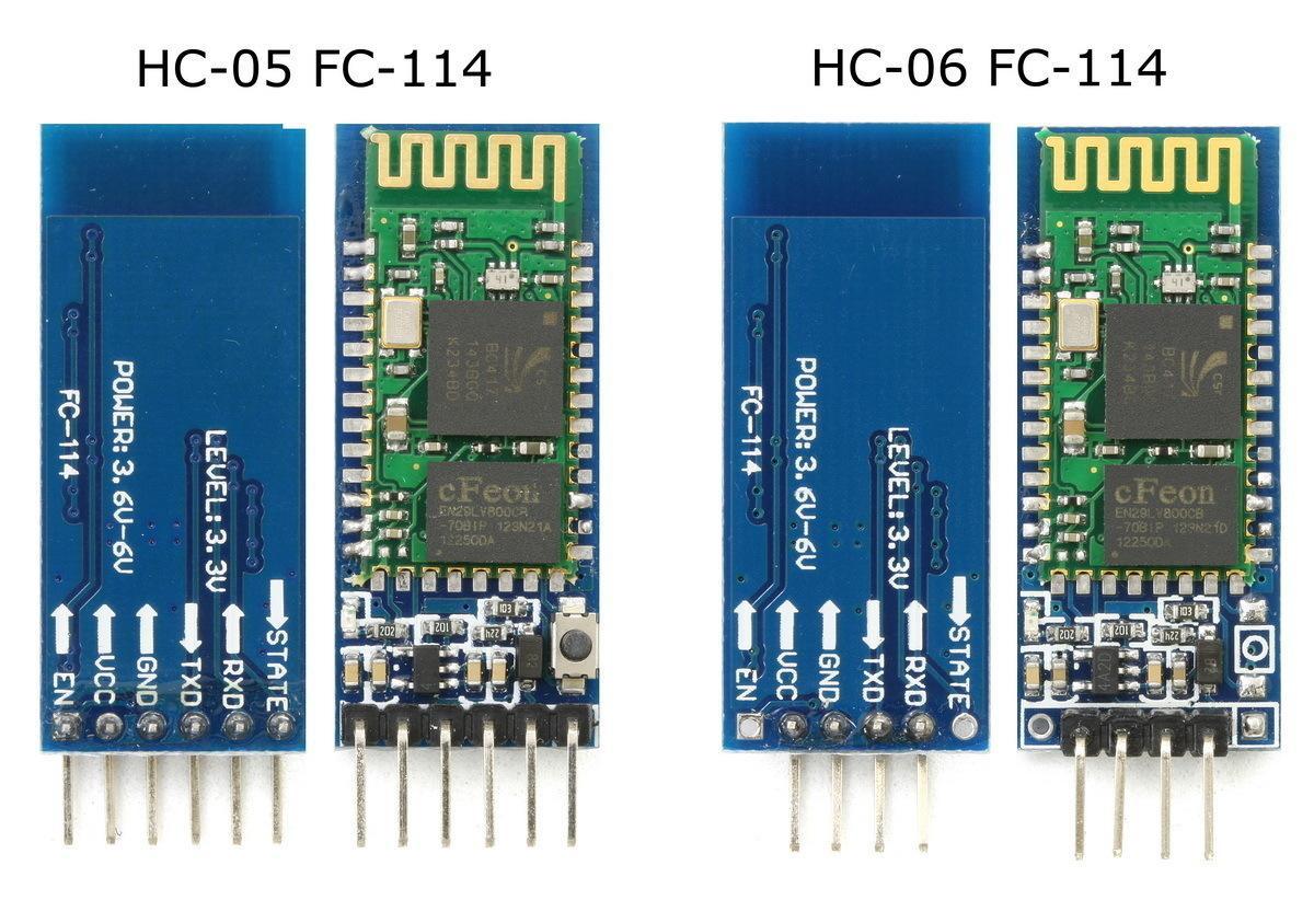 HC-05 und HC-06 Breakout-Boards