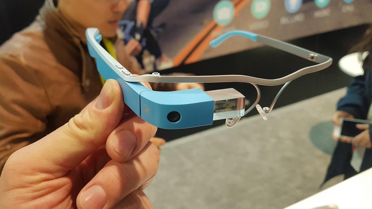 Dreister Google-Glass-Klon eines chinesischen Herstellers.