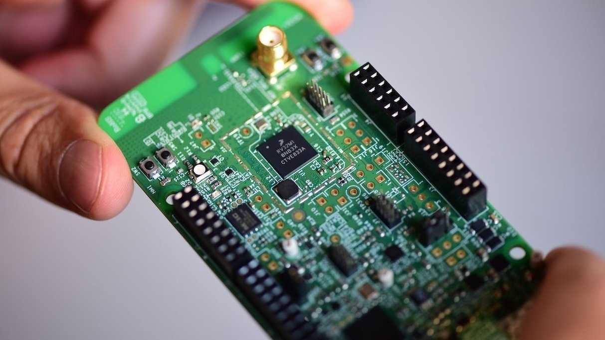 OpenISA Vegaboard mit NXP RV32M1-VEGA
