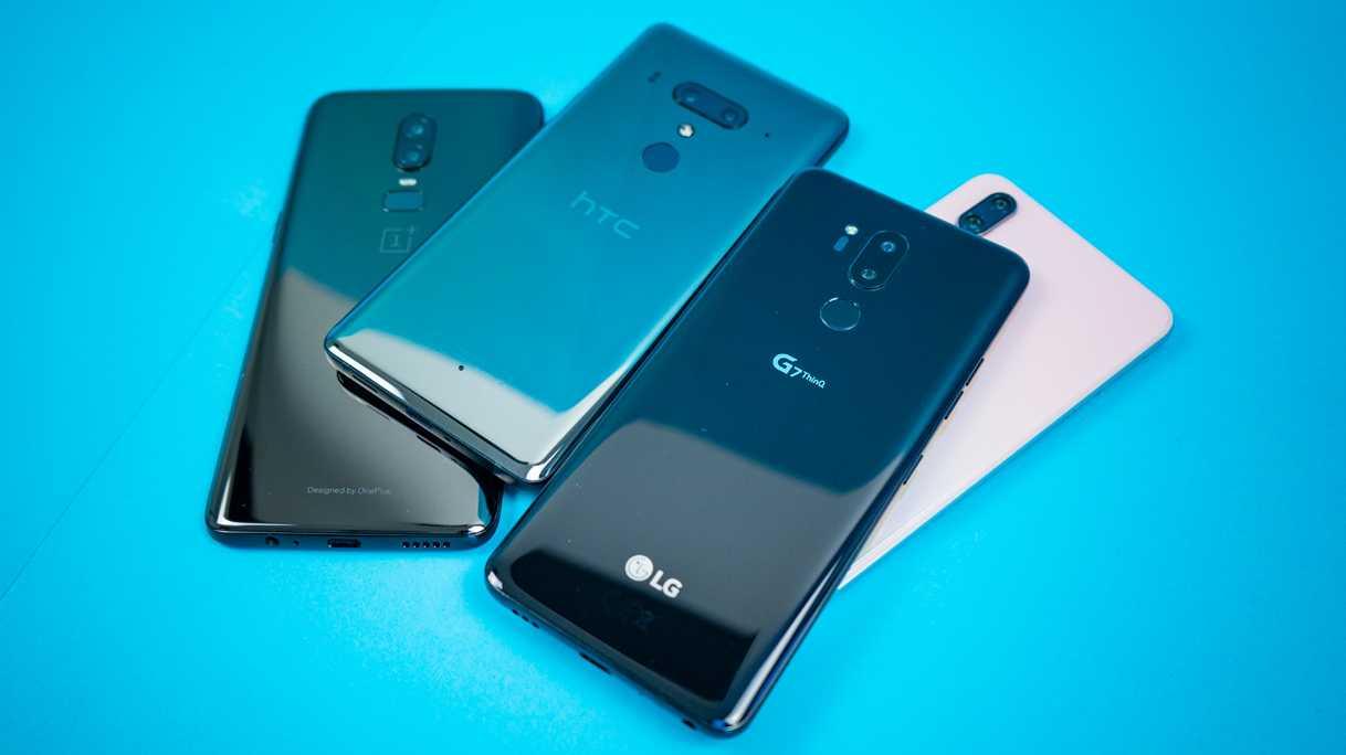 Top-Smartphones im Vergleichstest