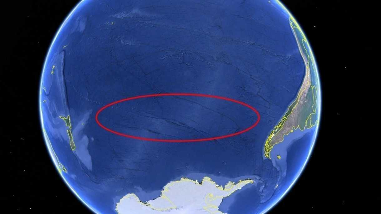 Chinas Raumlabor über Südpazifik in der Atmosphäre verglüht