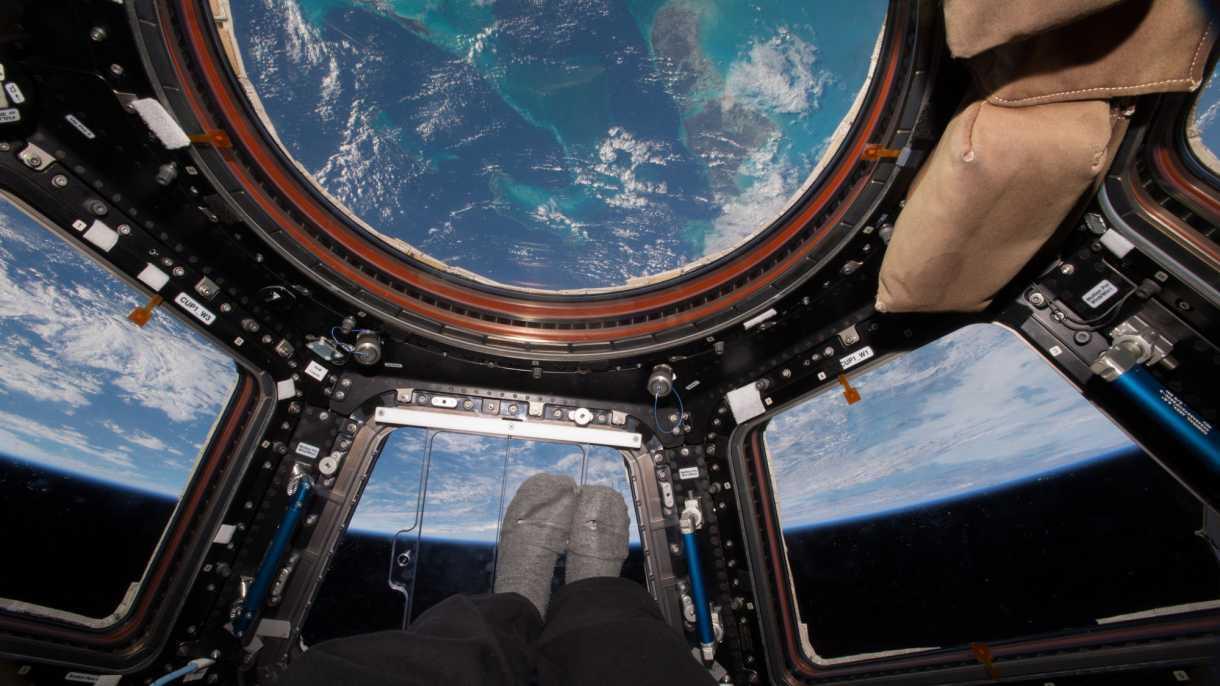 Bericht: Astronautin beging möglicherweise Straftat vom All aus