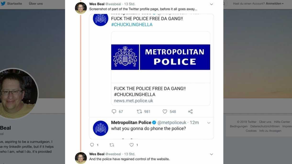 Account von Twitter-Chef Jack Dorsey gehackt