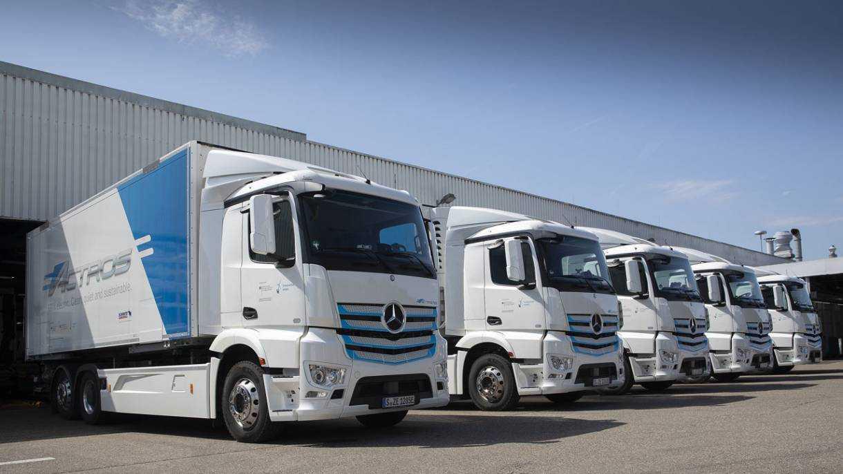 Brennstoffzellen-Lkw: 140 Wasserstoff-Tankstellen reichen