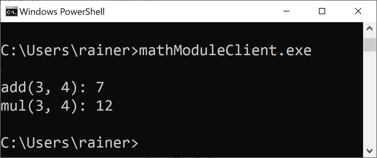 C++20: Module strukturieren