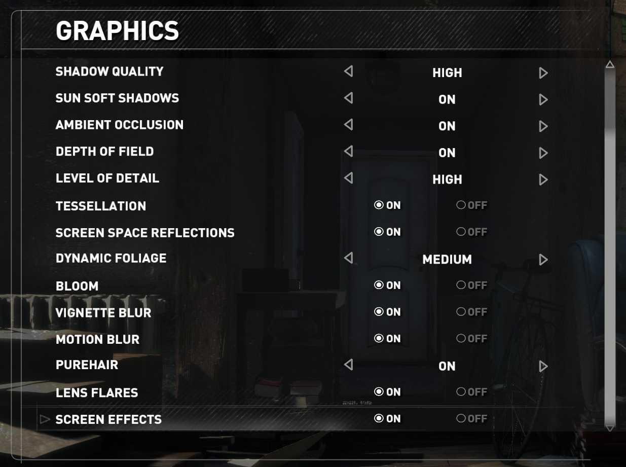 Mit ein paar Anpassungen im Grafikmenü läuft das Spiel auch auf schwächeren Grafikkarten flüssig.