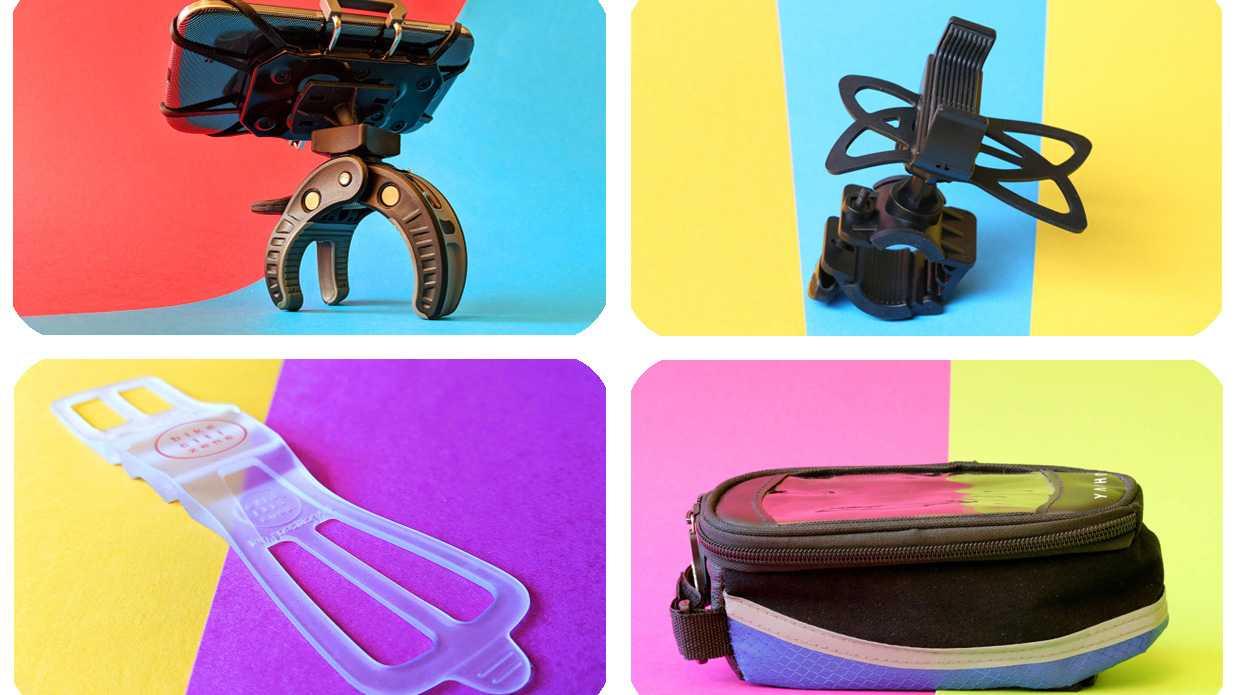 Vier Handyhalterungen fürs Fahrrad im Vergleichstest