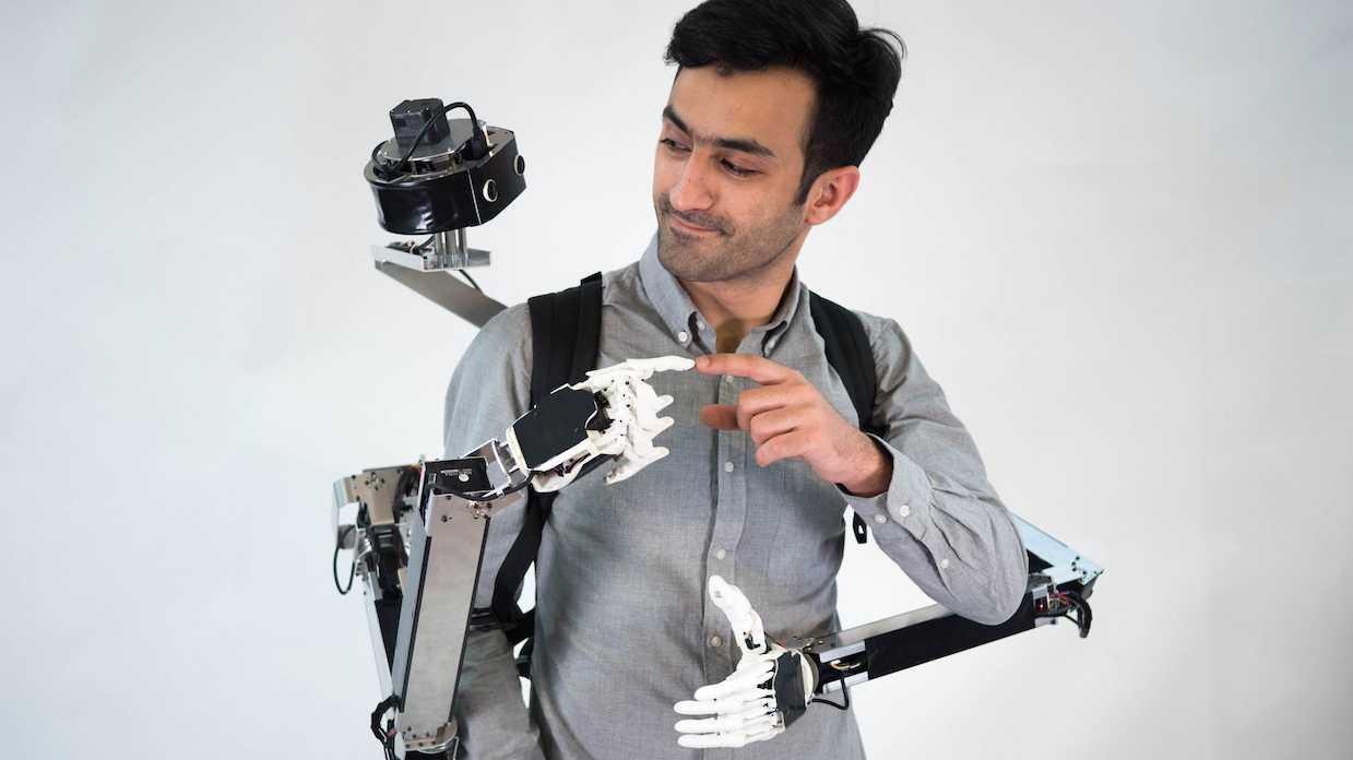 Telepräsenz mal anders: Das Roboterteufelchen auf der Schulter