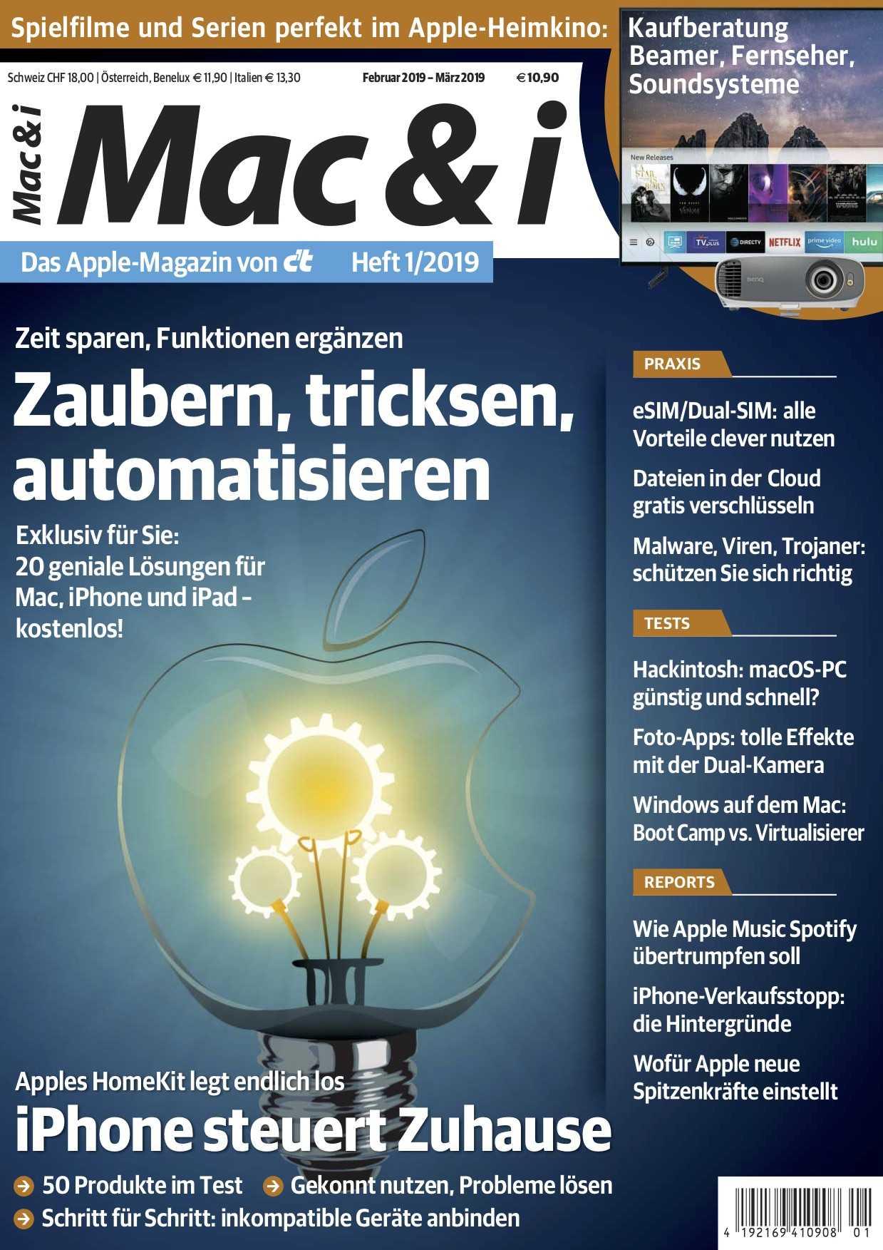 Heft 1 2019 Automatisierung Unter Macos Und Ios Mac I