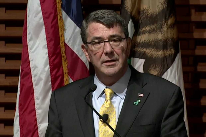 Verteidigungsminister Ashton Carter