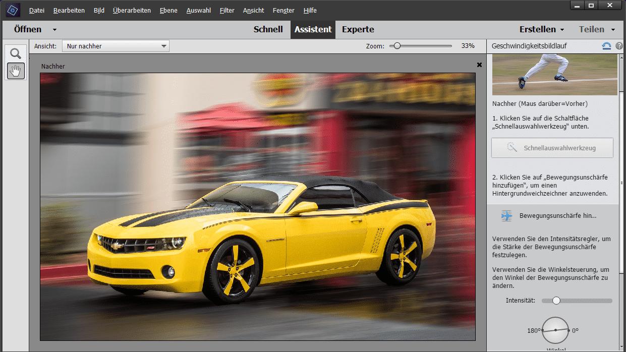 Photoshop Elements 15 und Premiere Elements 15 mit neuen Assistenten