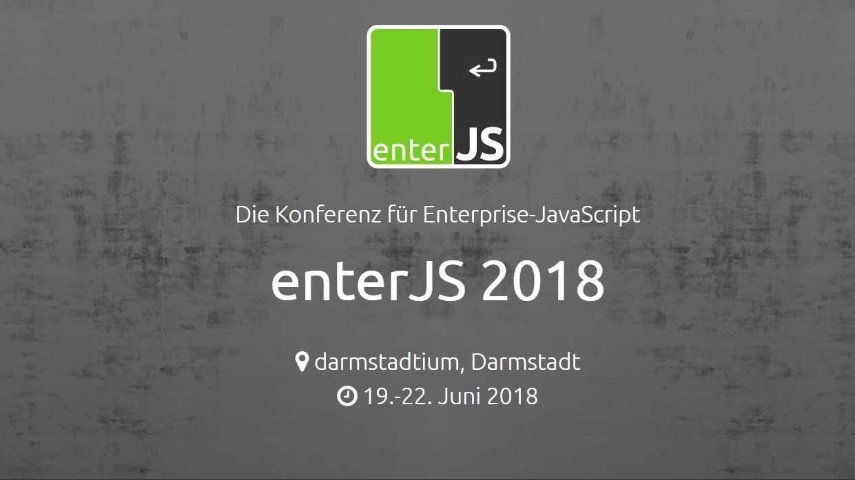 enterJS: Frühbucherrabatt der JavaScript-Konferenz noch einmal verlängert