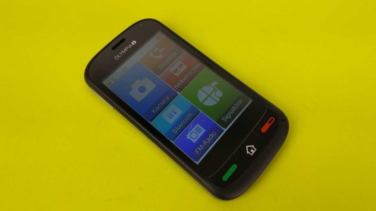 Olympia Touch 2: Pseudo-Smartphone für Senioren
