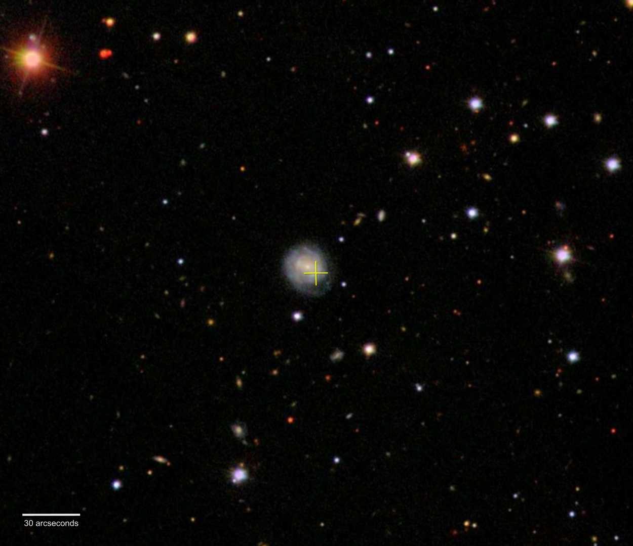 Die Galaxie und ihre Umgebung.