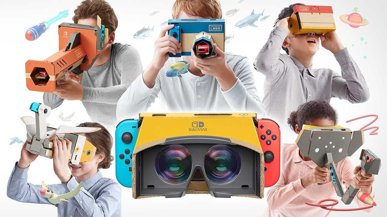Nintendo Labo macht die Switch zum VR-Headset