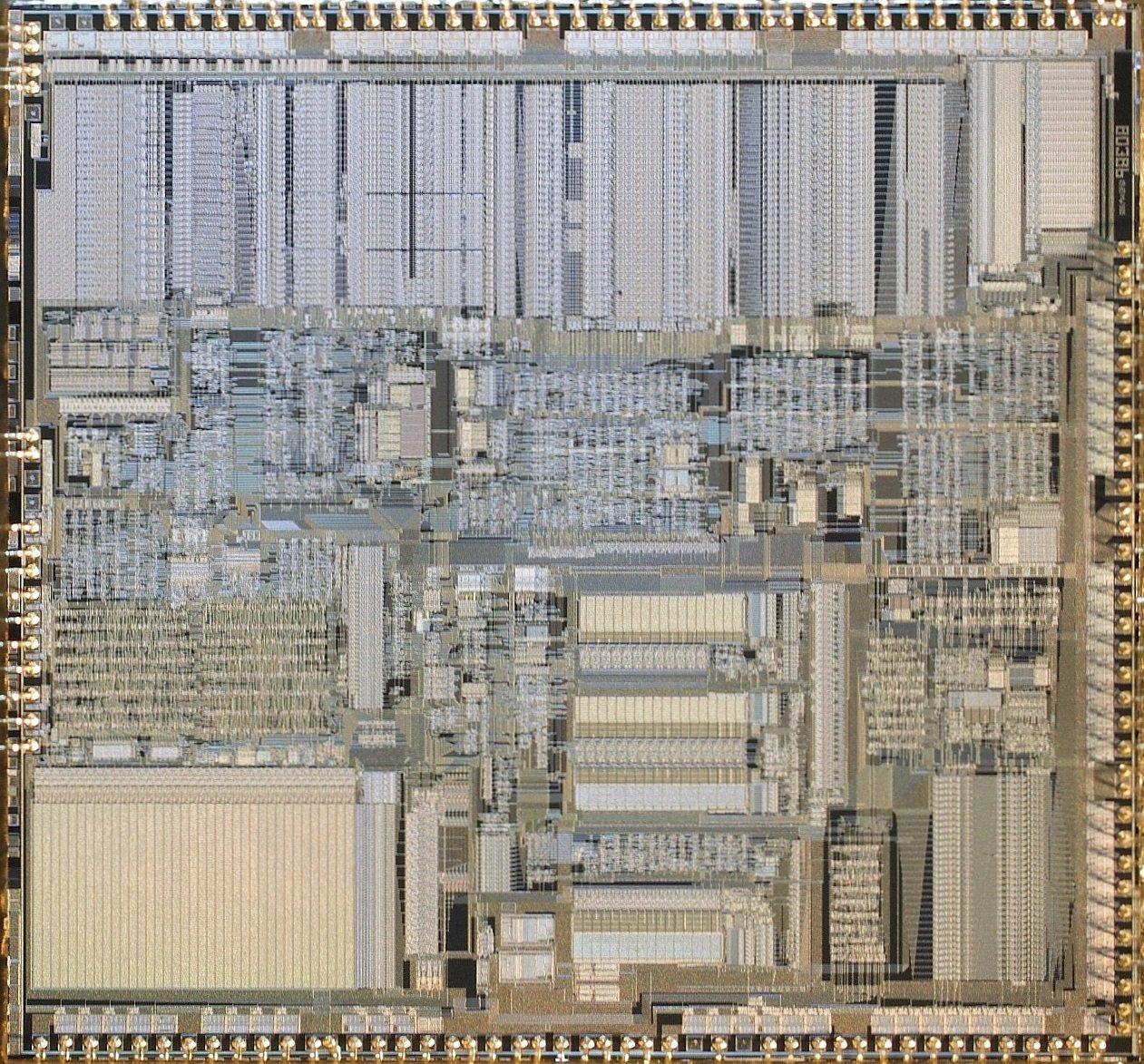 Die des Intel A80386DX-20