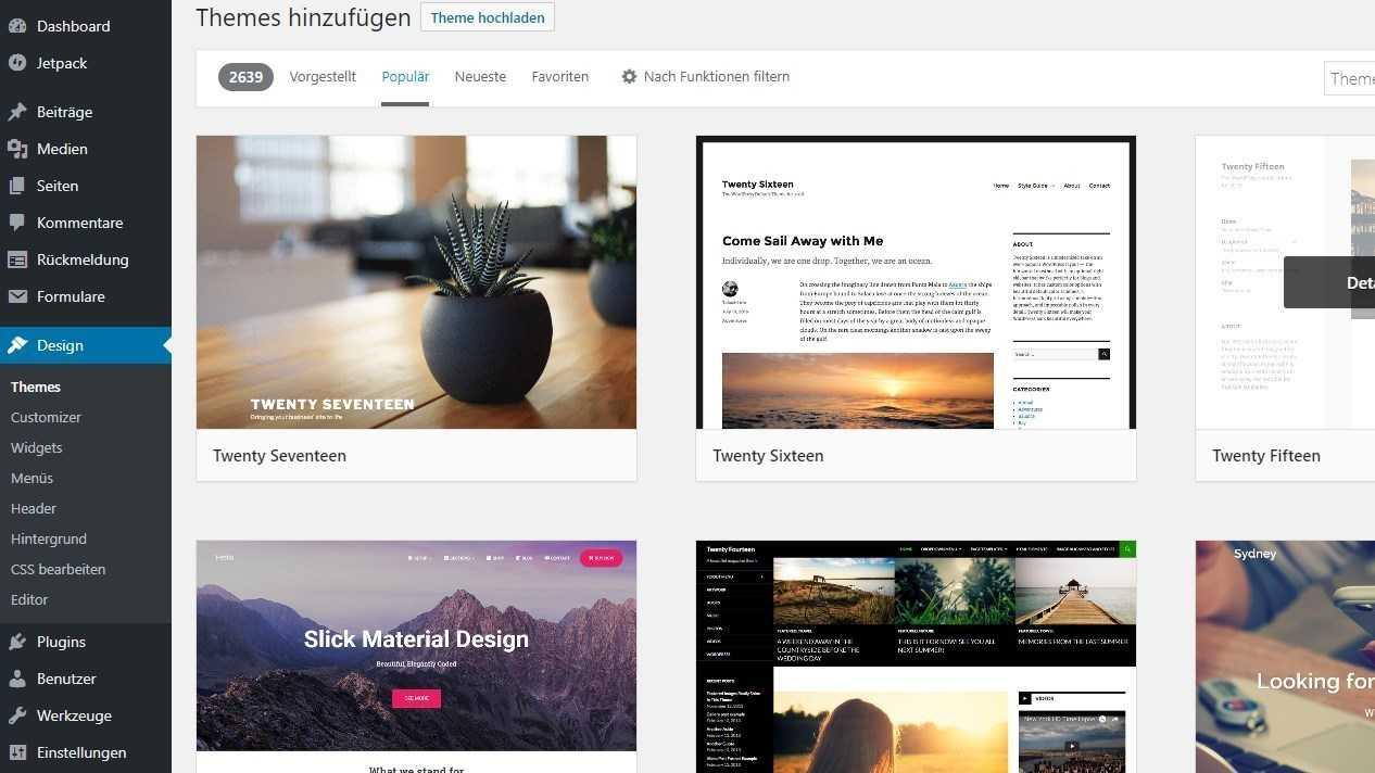 WordPress: Erste Schritte für die eigene Website