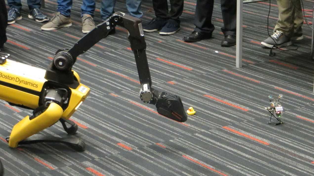 Robotik-Konferenz ICRA: Wann kommen Laufroboter in der richtigen Welt?