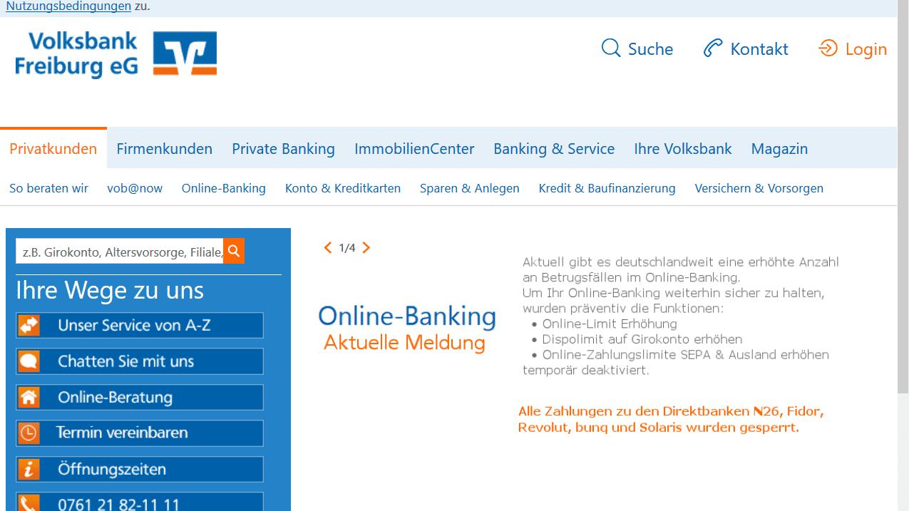 Online Banking Heise Online