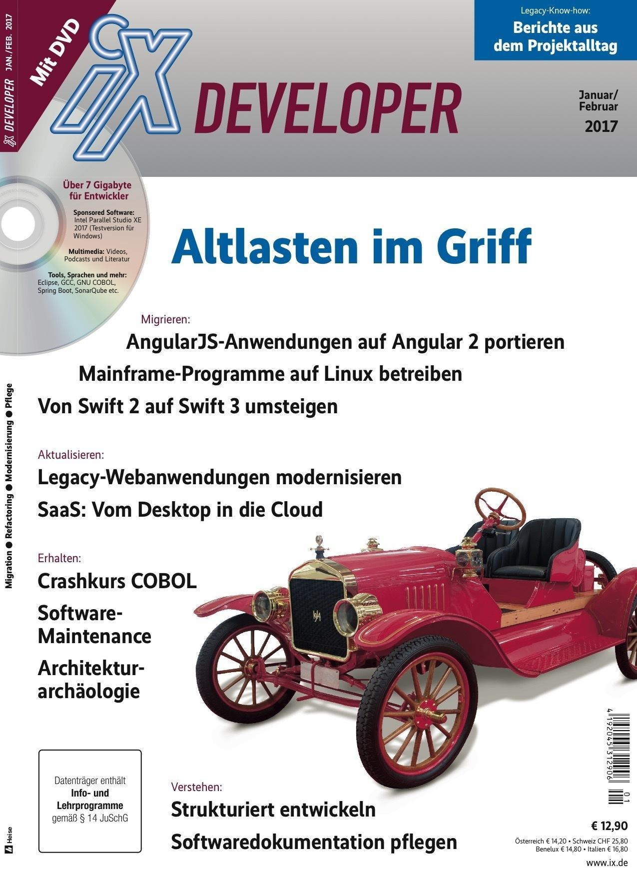 """iX-Developer """"Altlasten im Griff"""" jetzt digital erhältlich"""