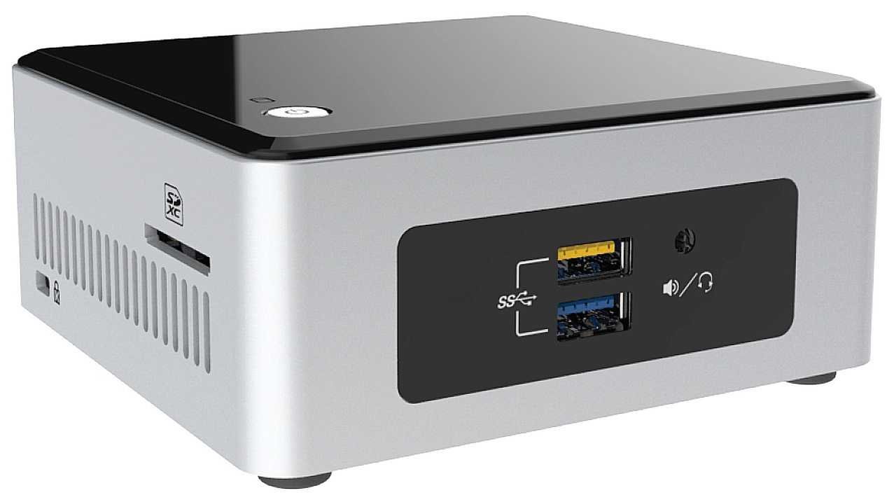 Intel Braswell-NUC NUC5CPYH mit Celeron N3050
