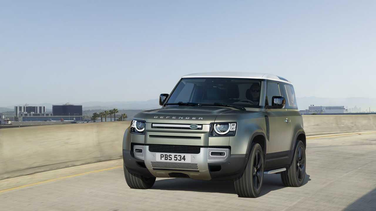 Weltpremiere Land Rover Defender
