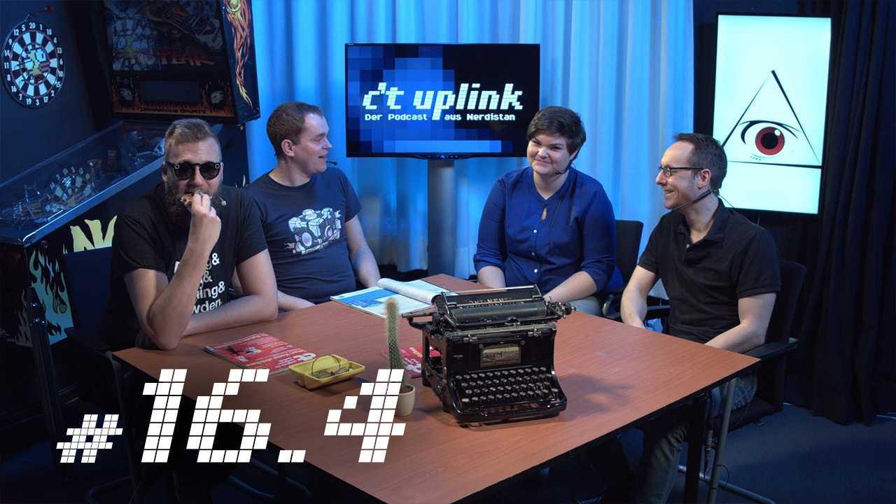 c't uplink 16.4: Digitales Vermächtnis, Samsung Galaxy S8 und Snapchat Spectacles