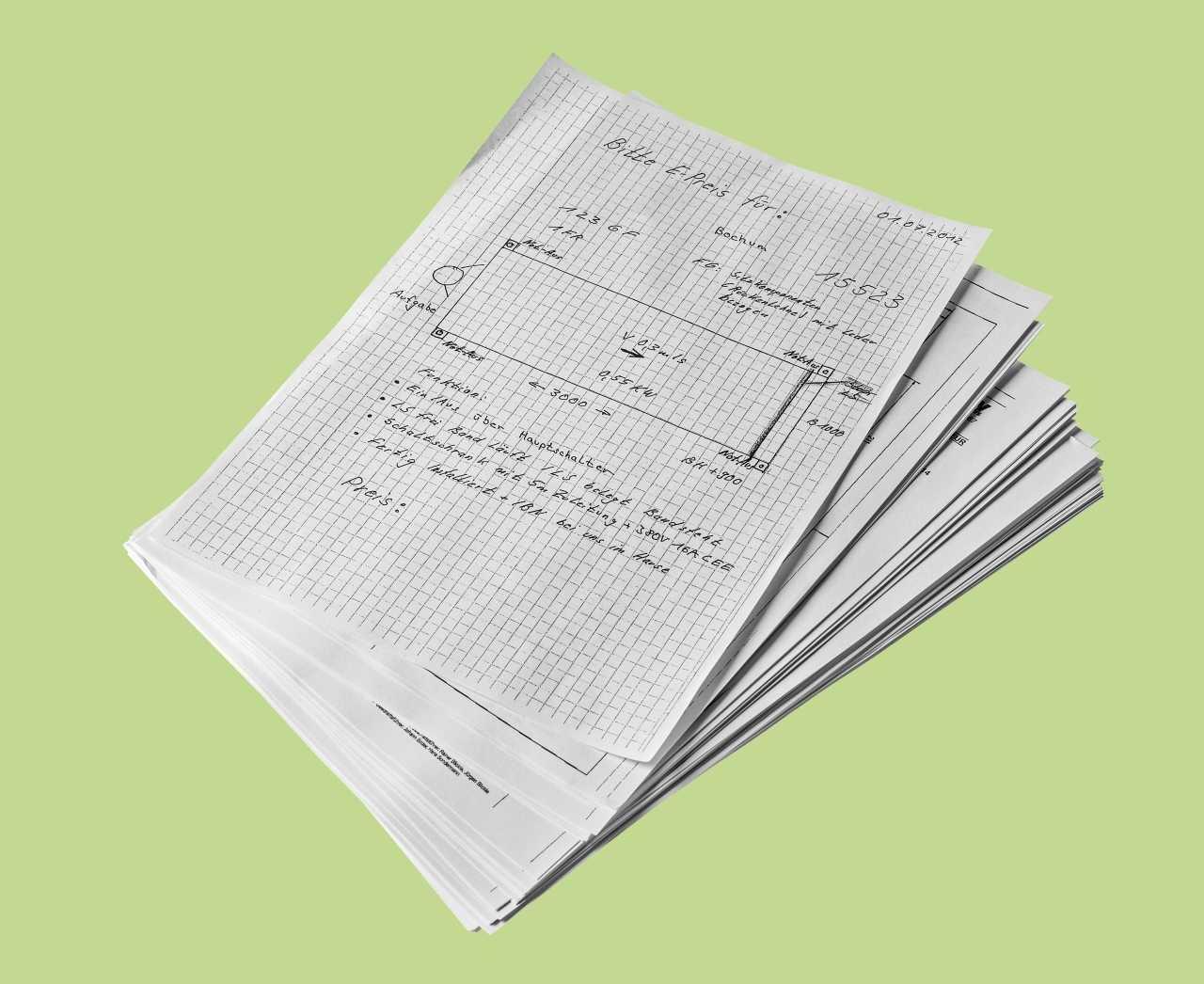 Am gebraucht gekauften Gerät konnten wir vertrauliche Dokumente des Vorbesitzers ausdrucken.