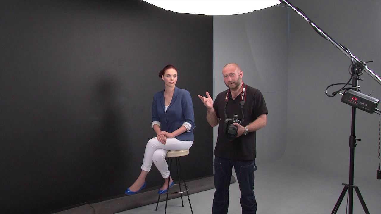 Porträtfotografie: Effektvolles Haarlicht