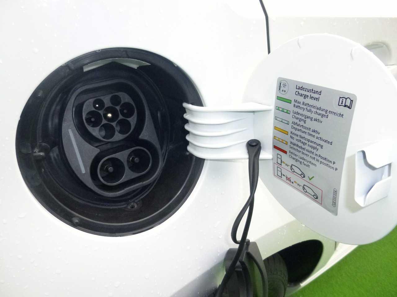 Eine Dose für das Combined Charging System...