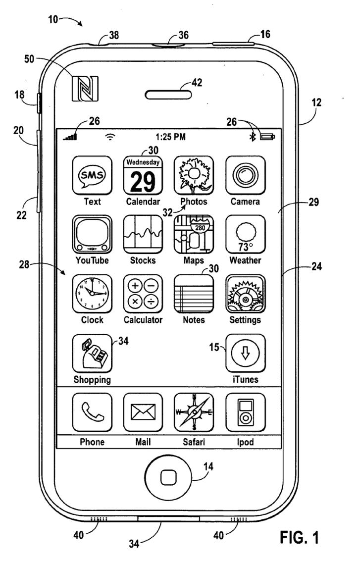 iPhone mit NFC-Chip und Shopping-App – bislang nur in Apples Patentanträgen