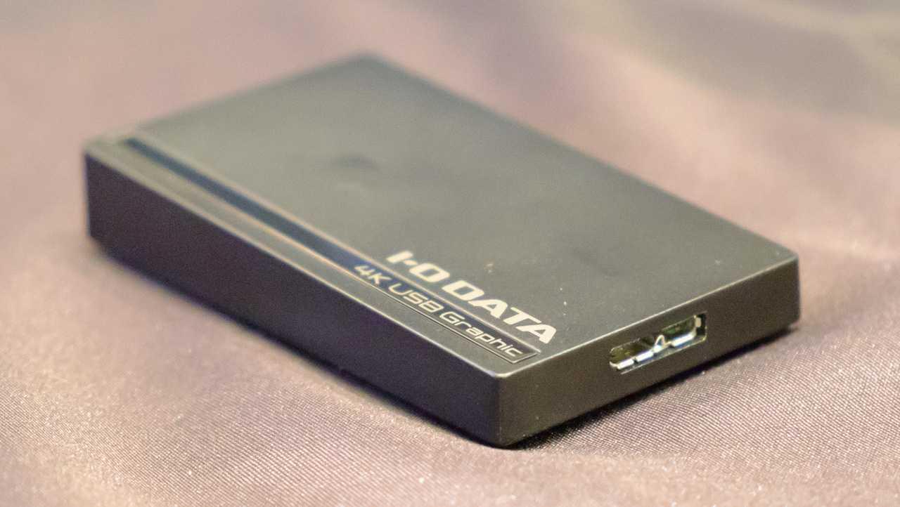 I-O Data USB-3.0-Grafikkarte mit 4K-DisplayPort