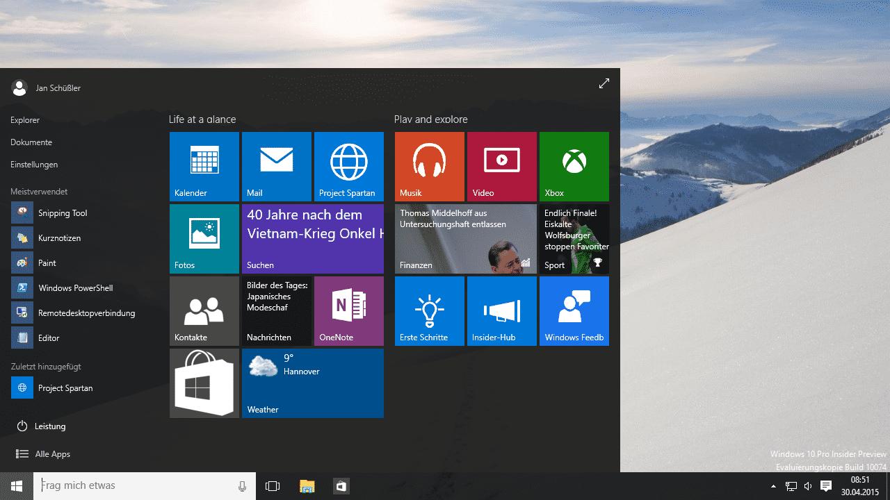 Nachgelegt: Erste Windows-10-Treiber