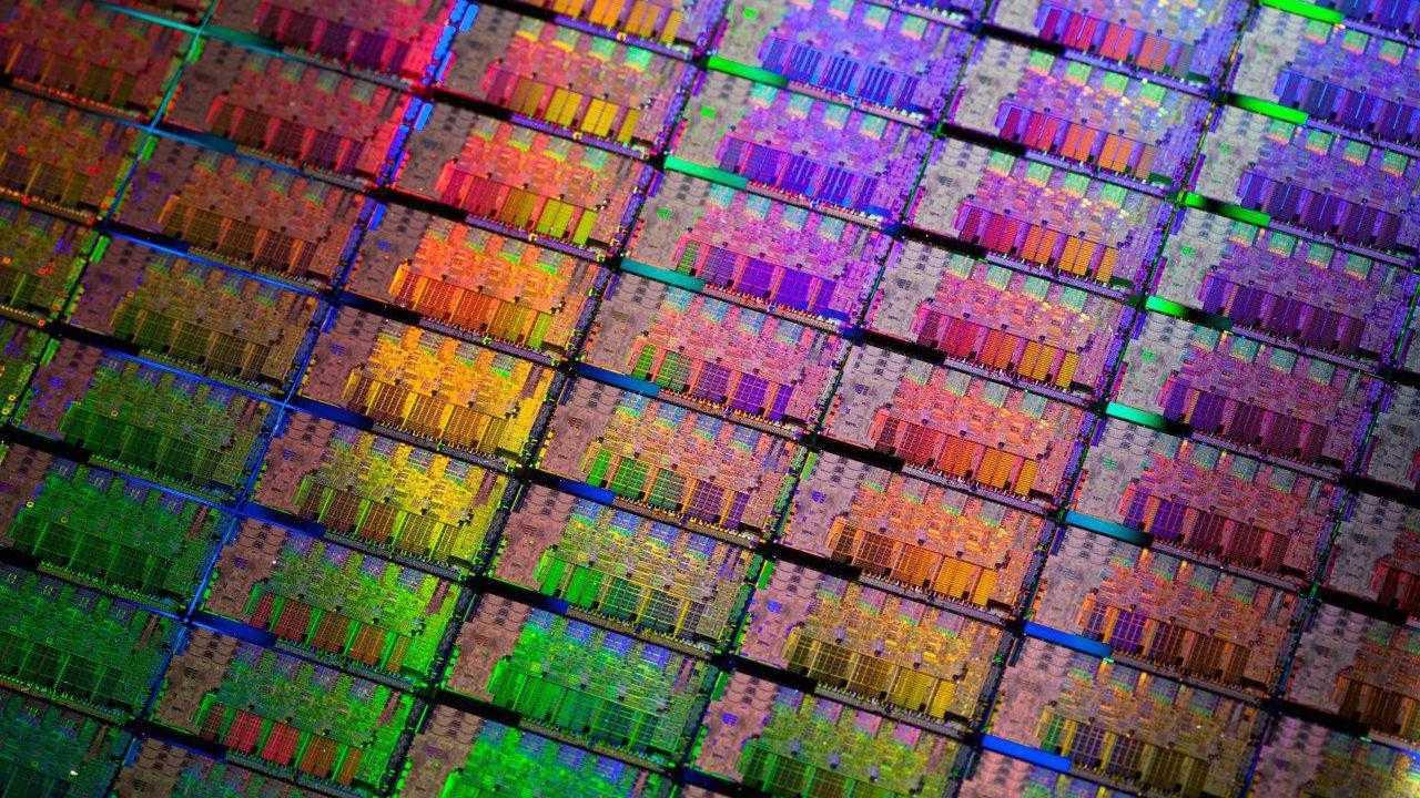 Intel SandyBridge Wafer