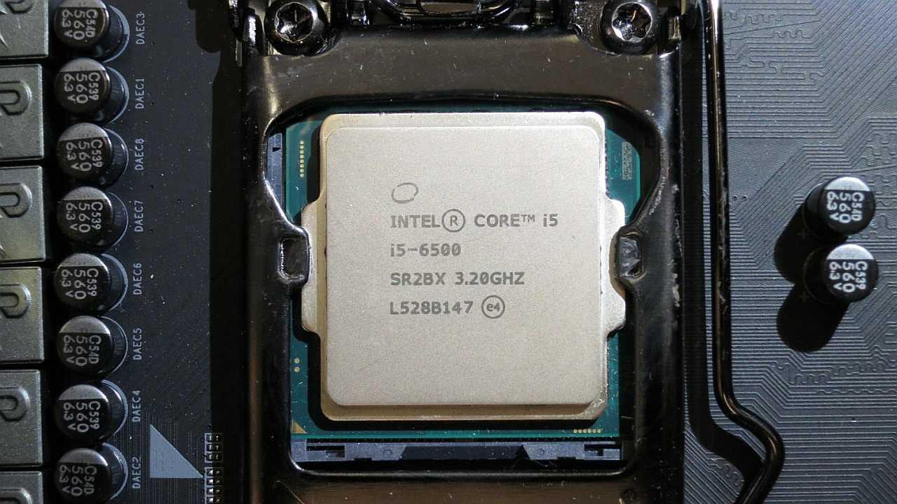 Intel Core i5-6500 mit S-Spec-Code SR2BX