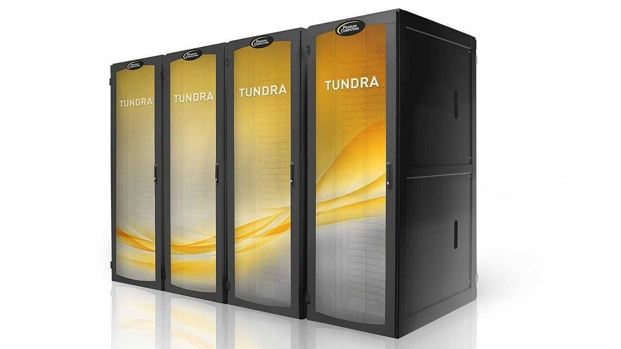 Supercomputer Penguin Computing Tundra ES