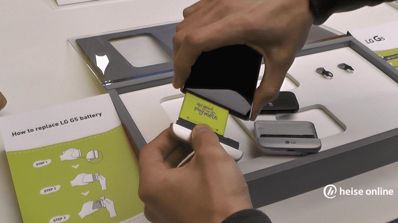 LG G5: das etwas modulare Smartphone im Hands-on