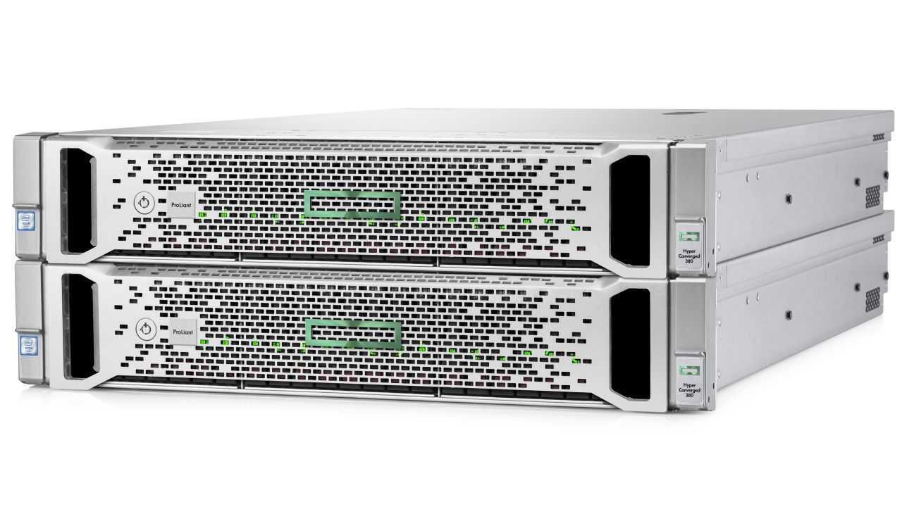 HPE Hyper Converged 380
