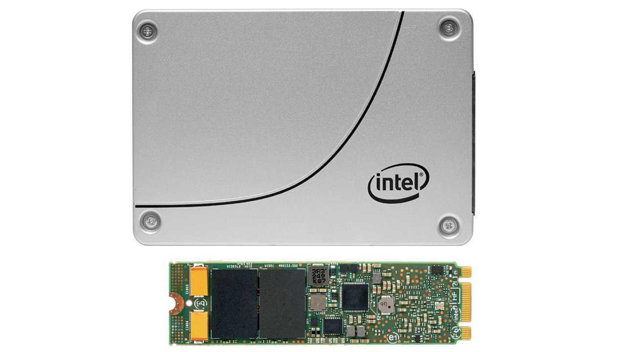 Intel SSD E 5420s in 2,5 Zoll und M.2