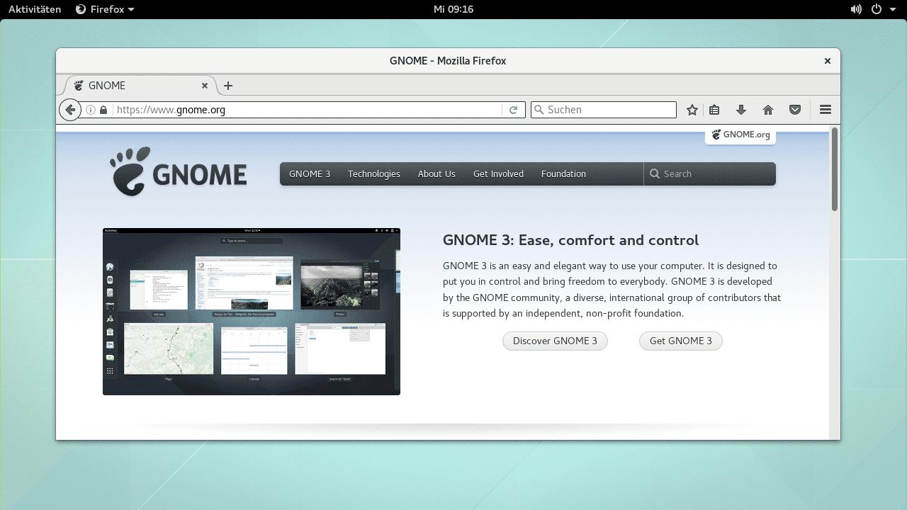 Unix/Linux-Desktop Gnome 3.22 freigegeben