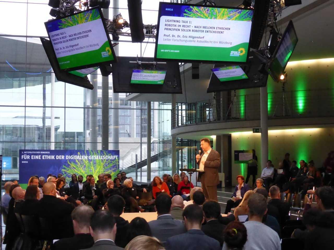 Netztpolitischer Kongress der Grünen