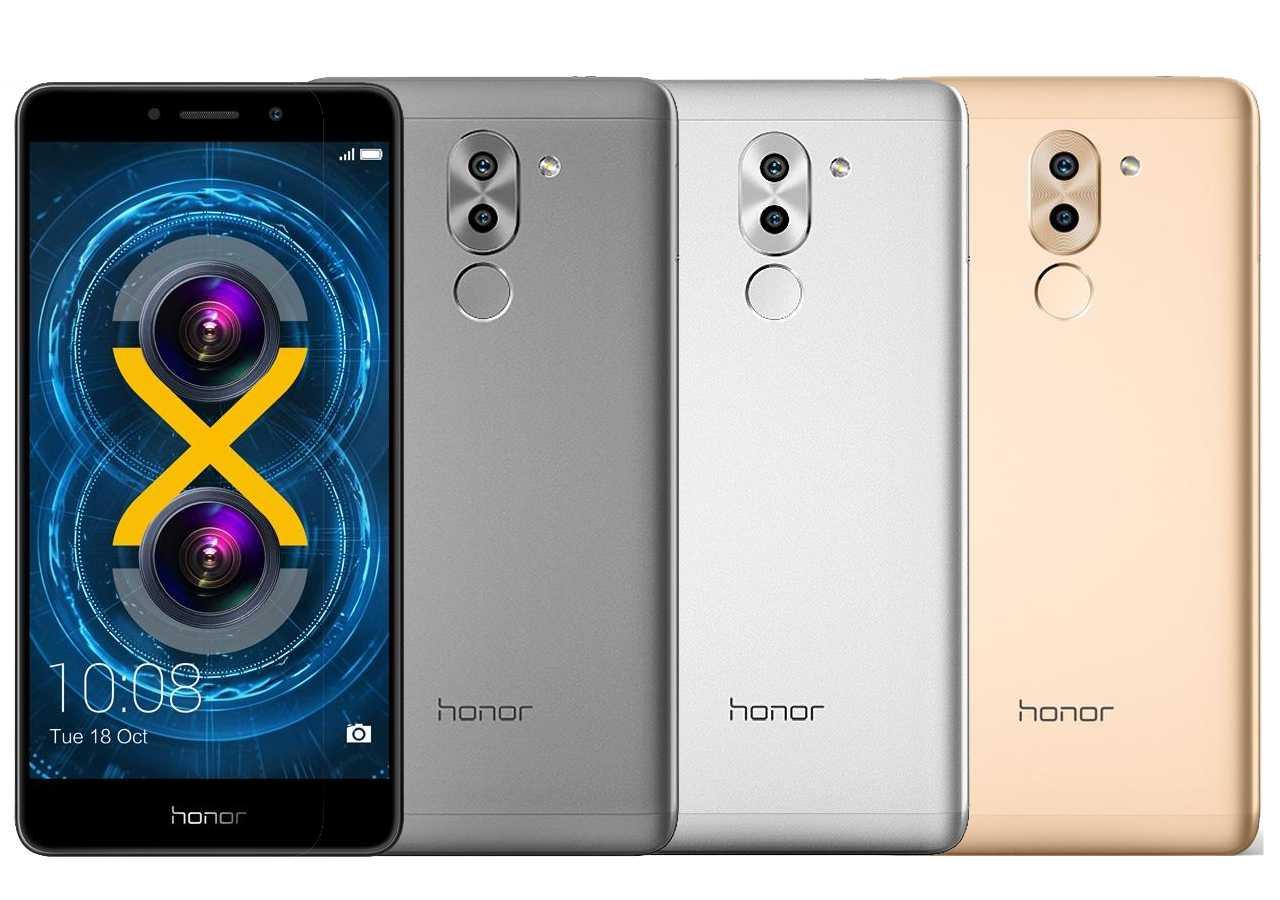 Das Honor 6X gibt es in Grau, Silber und Gold.
