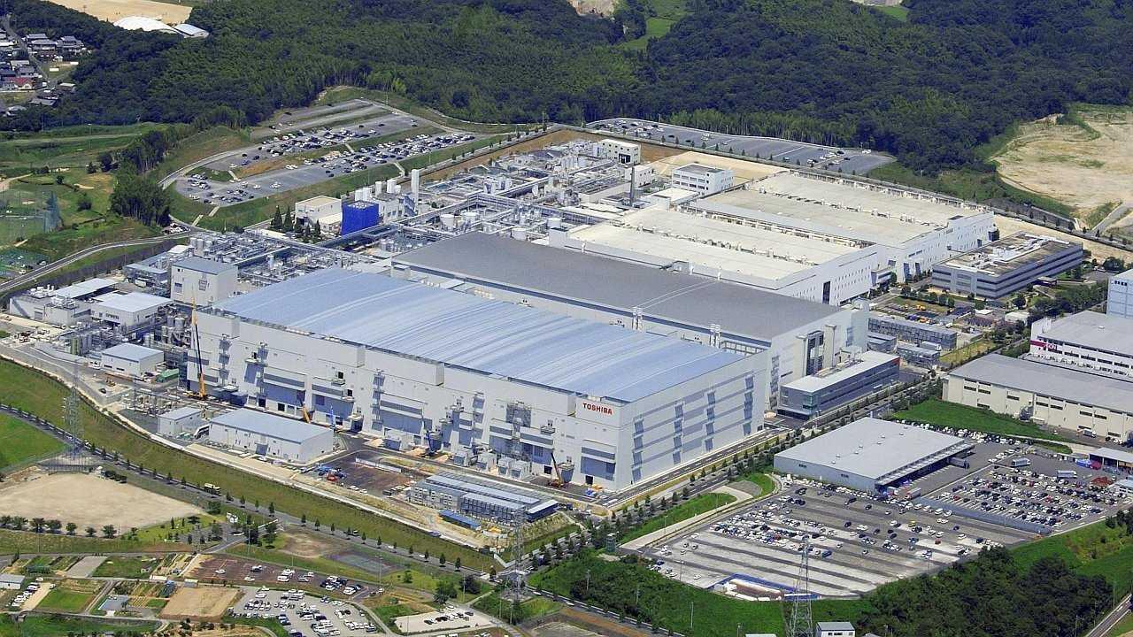 Fab 4 von Toshiba und WD/SanDisk im Jahr 2007