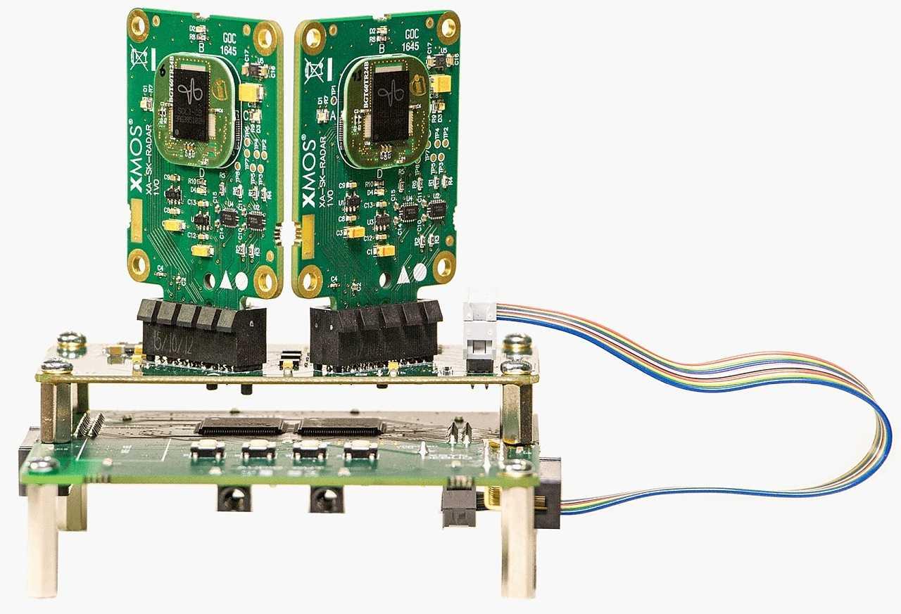 Xmos-Radar-Sensor mit Infineon Soli